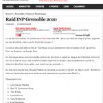 classement raid INP sur raidsaventures.com