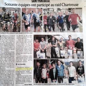 Victoire au raid chartreuse 2013