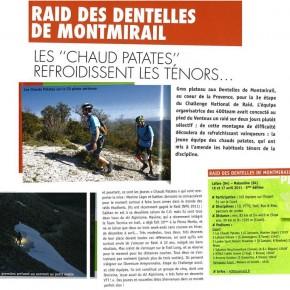 article dans endurance Trails #87 sur les dentelles