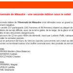 Trail Blanc Méaudre - Gaët 2éme
