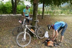on pose les vélos pour de bon