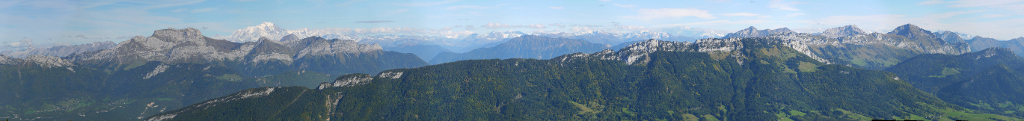 panorama sommet semnoze