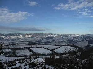 superbes paysages du beaujolais