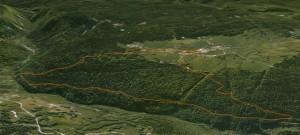 vue gg earth du trail