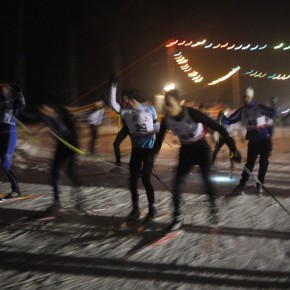 Challenge des Nocturnes de ski de fond Chartreuse 2011