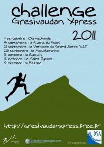 affiche gresivaudan xpress 2011