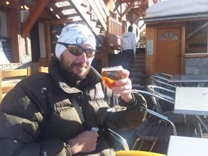 Guillaume Bernard, Alias Cacahuète est expert en bière d'après l'effort