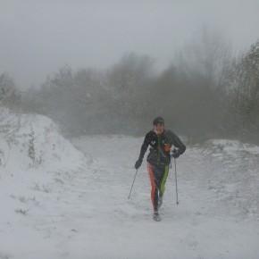 La neige nous rend visite!