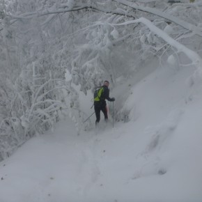 neige octobre grenoble trail
