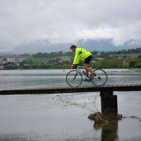 Tour du lac Leman en velo