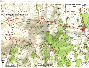 Beau Trail'O sur l'Aubrac