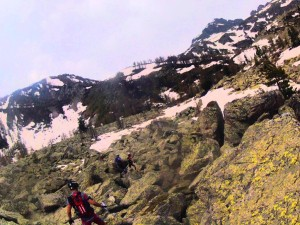 Trail mercantour