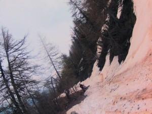 Vtt mercantour 2013 neige