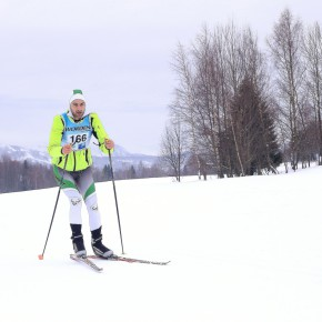 Attache ta jugulaire! (Triathlon de neige Feclaz)