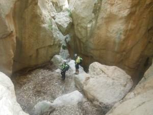 Le Canyon super beau mais sans eau et les combis c'est moins drôle ! ©Nico-LSN
