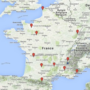 Les étapes du Championnat de France 2016