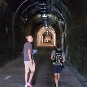 tunnel d accès au dome