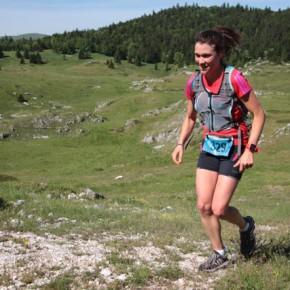 Julie fait du trail