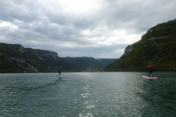 paddle lac Nantua
